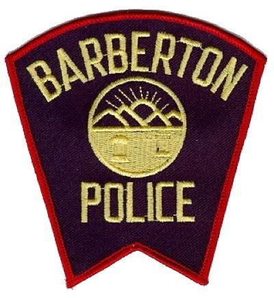 Barberton Police Patch